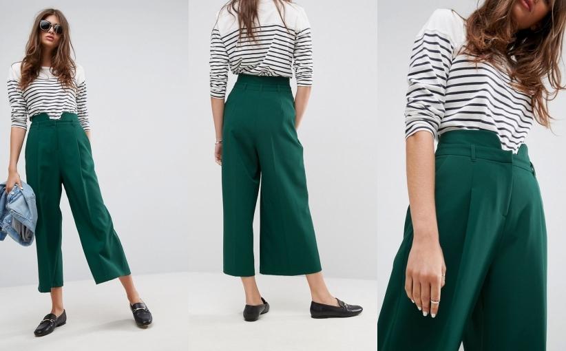 spodnie kuloty damskie