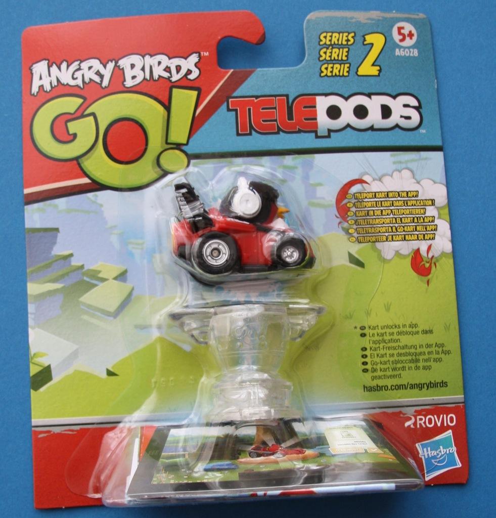 Angry Birds Go Figurka Figurki Telepods Red 7047747139 Oficjalne Archiwum Allegro