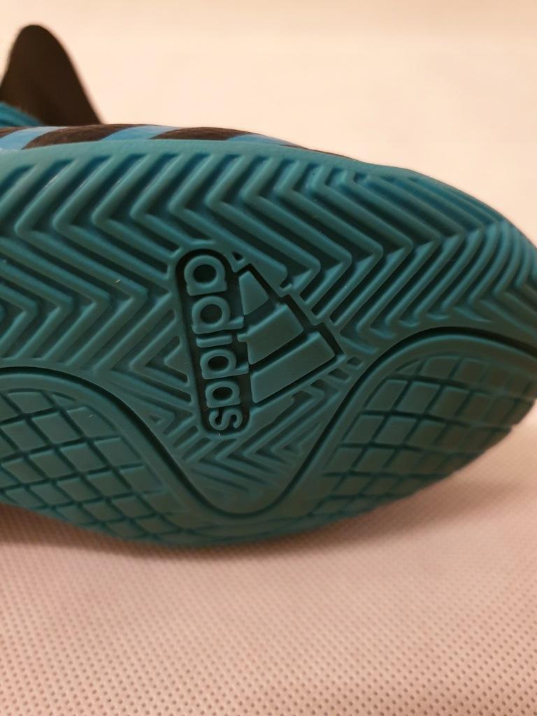 Buty Adidas Nemeziz Tango turkusowe roz. 35
