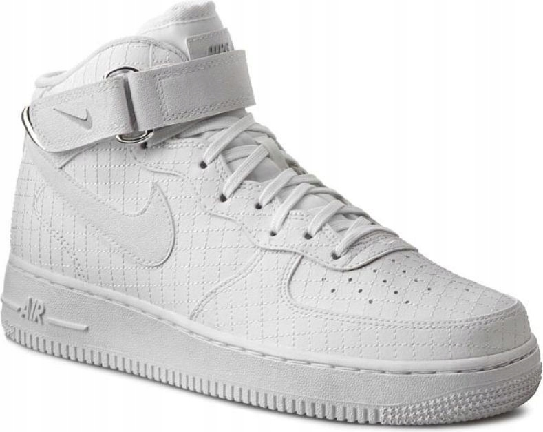Nike Sportswear Buty Air Force 1 Mid Buty męskie białe w