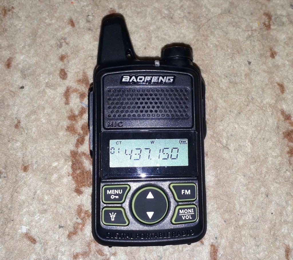 Baofeng BF-T1 mini radiotelefon 400-470 MHz NOWY