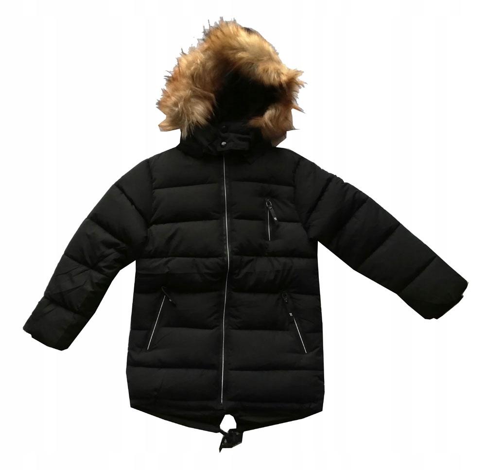 kurtka parka zimowa chłopięca 168
