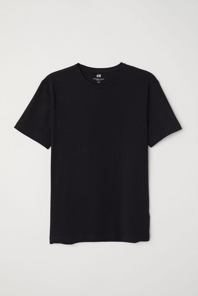 H&M T shirt SLIM FIT rozm. L 7722877342 oficjalne