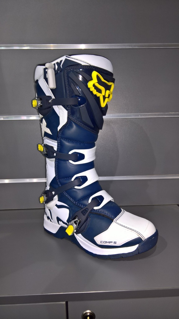 Buty FOX COMP 5 Holiday SE White/Yellow roz. 12