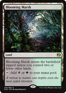R Kaladesh MTG Magic - Blooming Marsh NM