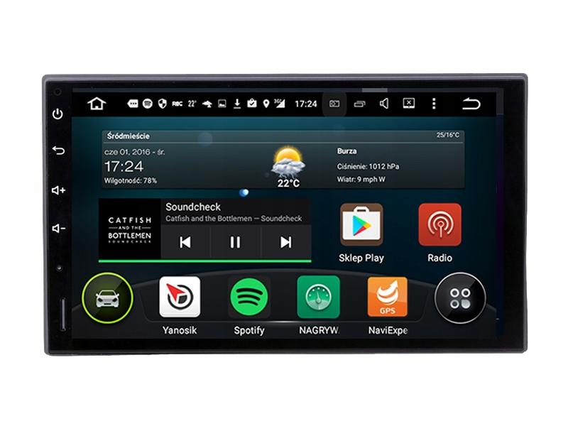 "NAWIGACJA RADIO ANDROID 5.1 7"" 2 DIN GPS WiFi"