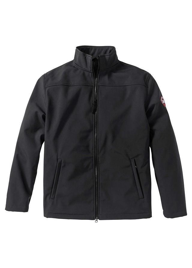 Kurtka softshell Regular Fit czarny 52 L 934817