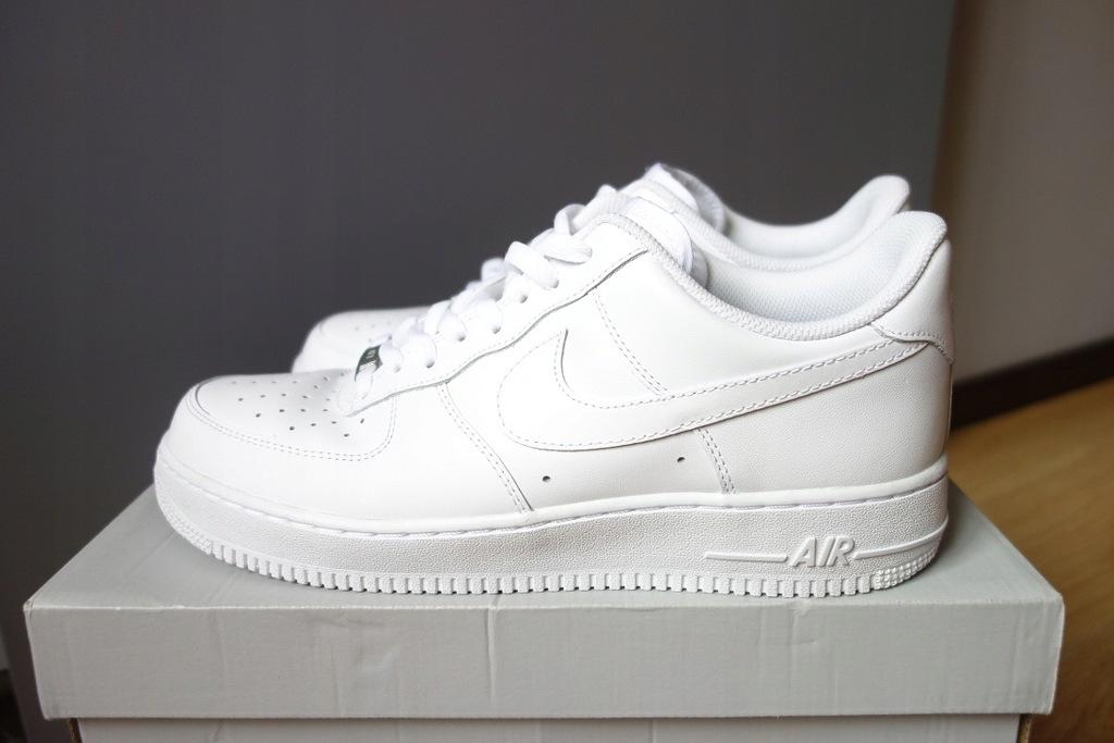 Buty nike air force 1 low 07 white rozmiary okazja Zdjęcie