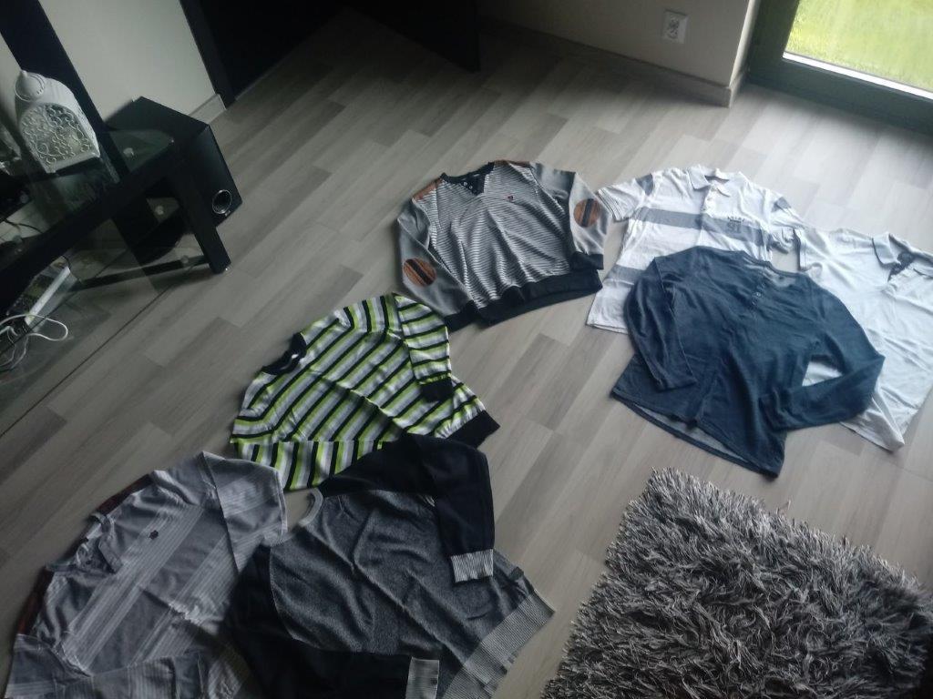 MARKOWE Bluzka koszulka t-shirt bluza MEGA 7 sztuk