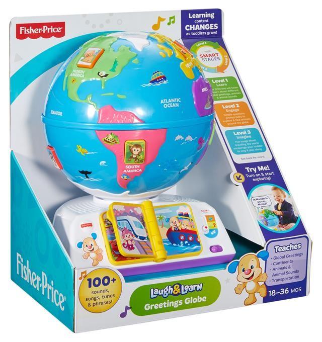 Fisher Price Ucz się i śmiej SS Edukacyjny Globus