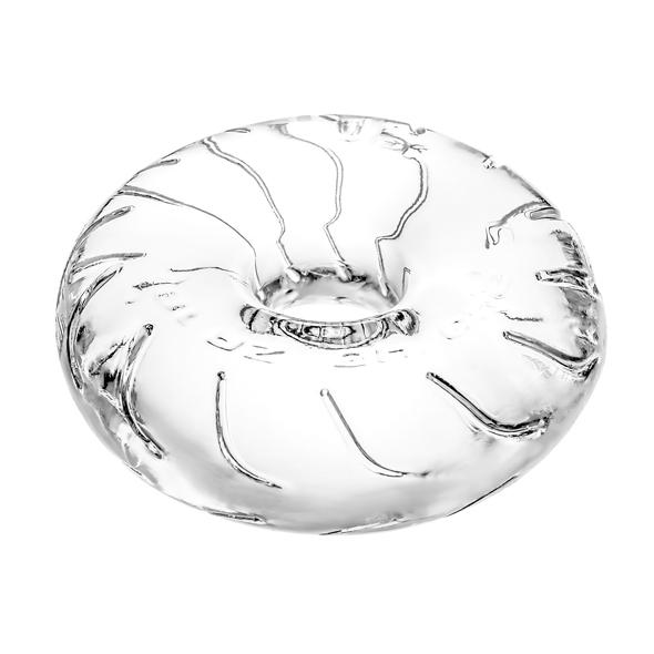 e-shop Męski stalowy piercing na penisa - sztanga z kolorową cyrkonią - oceń produkt na fitz-roy.pl