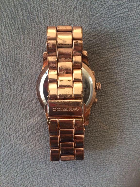 Zegarek MK Michael kors używany złoty 7145072976
