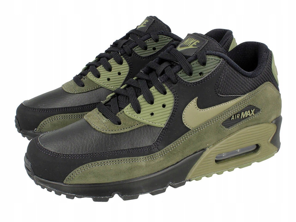 Sneakersy męskie Nike AIR MAX 90 LEATHER 302519 014