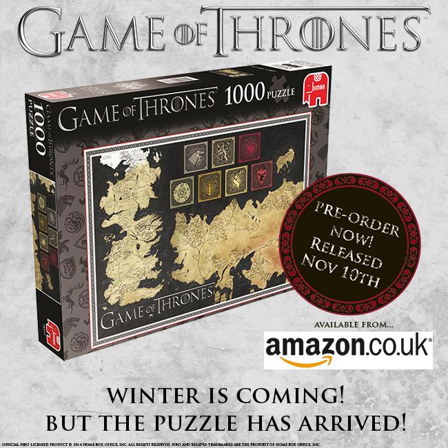 Puzzle Jumbo Gra O Tron 1000 Game Of Thrones 7408678228 Oficjalne Archiwum Allegro