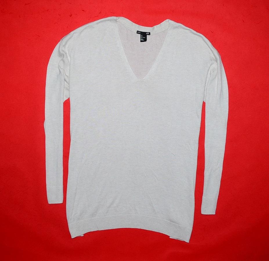 6315-28 ...H&M... SWETER PASTELOWY ANGORA r.L