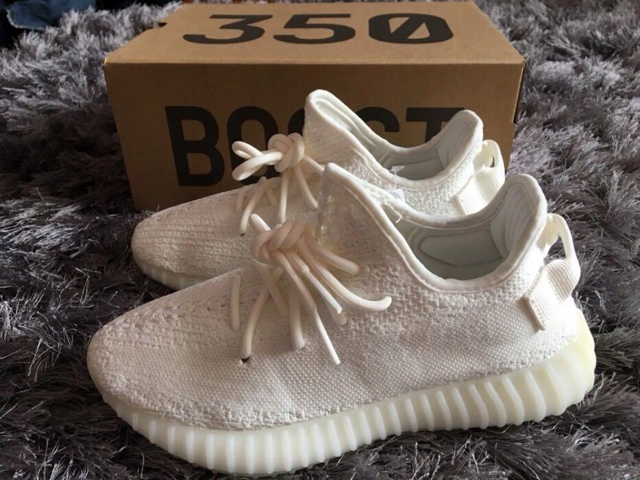 Adidas Yeezy 350 V2 White 36 45 damskie meskie buty