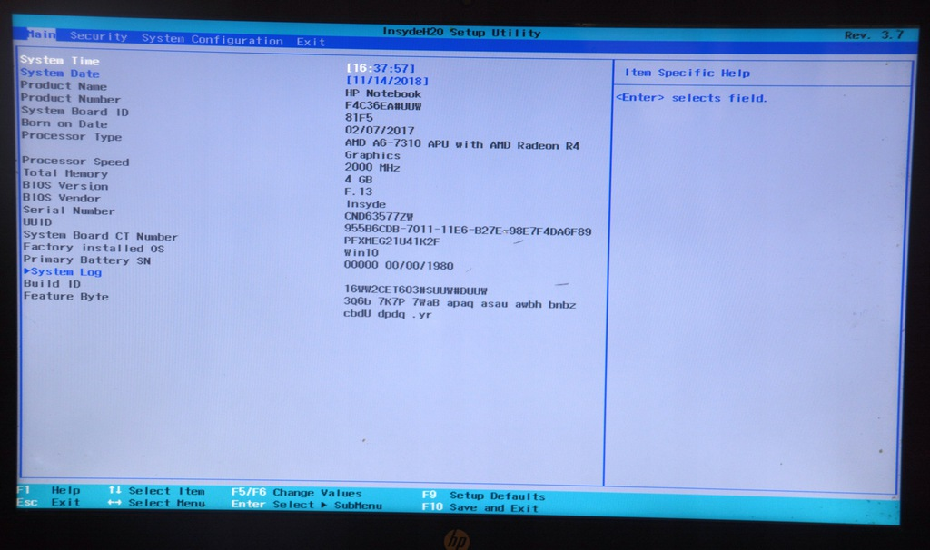 Hp 15 A6 7310 4gb Amd Radeon R4 Graphics 7671616343 Oficjalne Archiwum Allegro