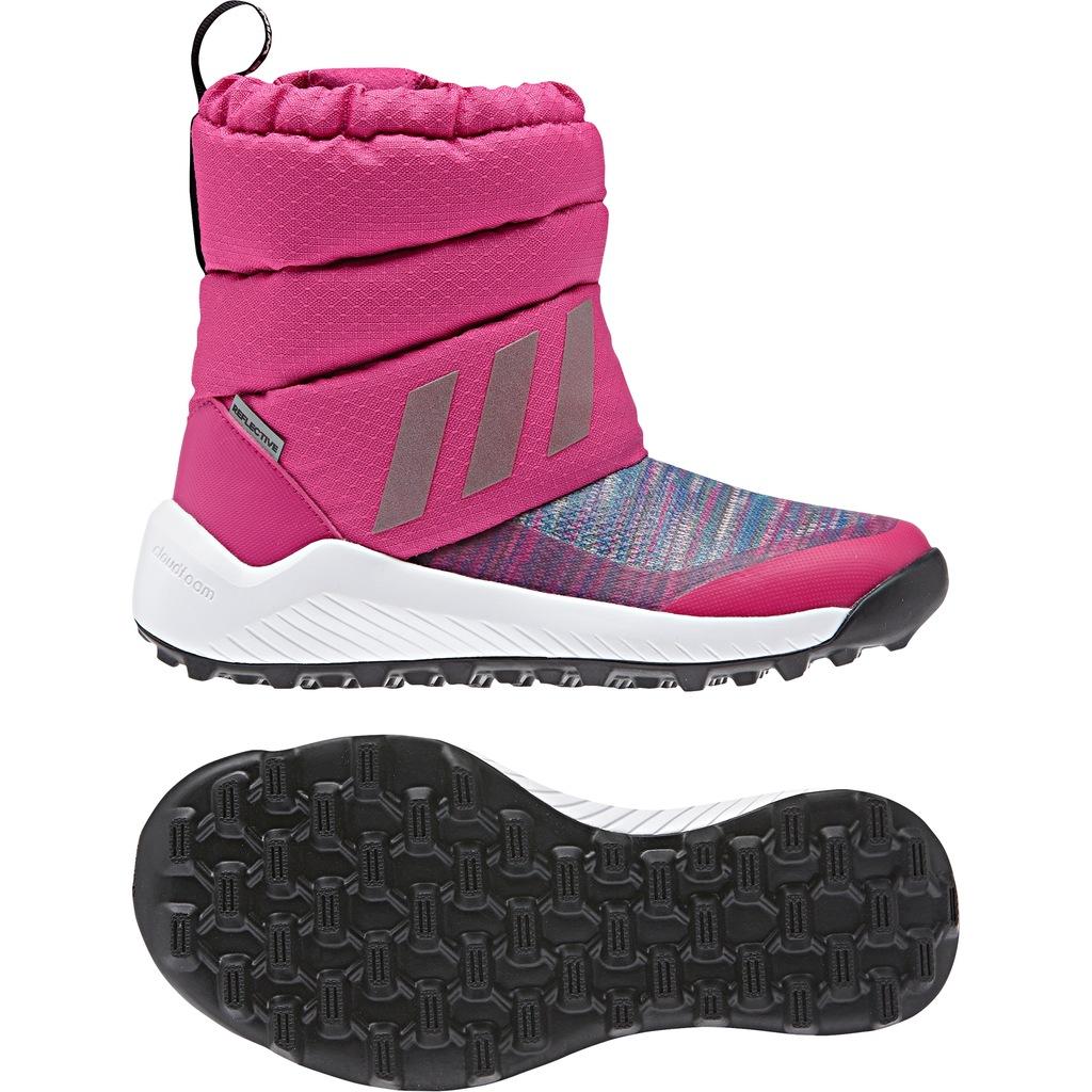 buty dziecięce zimowe adidas r 31 12 AH2605 7630212447