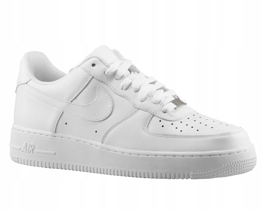 Nike AIR FORCE ONE LOW Białe Rozm 43 BOX Wyprzedaż