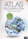 Atlas geograficzny Polska kontynenty świat Gimnazj