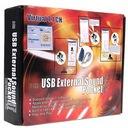 Karta muzyczna 3D 7.1ch + słuchawka SKYPE USB !!!