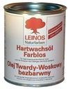 Olej twardy-woskowy bezbarwny Leinos 0,75l Mat