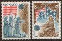 Monako. Mi 1526-27 ** - Europa CEPT 1982