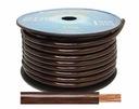 Kabel zasilajacy 4GA CCA 16mm2 CZARNY GRUBY