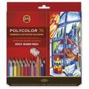 Koh i noor Polycolor Kredki 36kol+2 ołówki karton