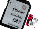 KARTA PAMIECI KINGSTON SDHC 128GB CLASS 10 SDX UHS