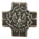Żołnierze Wyklęci - Krzyż WiN - odznaka wpinka pin