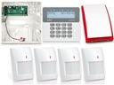 SATEL ALARM BEZPRZWODOWY PERFECTA 16, GSM 4x PIR