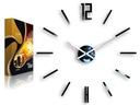 GROßE moderne Wand Uhr CARLO 75 cm Farben