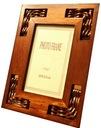 Piękna Drewniana Ramka na zdjęcia 10x15