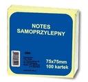 NOTES SAMOPRZYLEPNY kartki bloczki biurowe 75x75