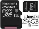 KINGSTON KARTA PAMIECI 256GB MICRO SD class 10 UHS