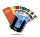 T4W lakier specjalny RAL 6018 akryl (Puszka 1L)