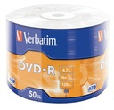 Płyty VERBATIM DVD-R 4,7GB 16x 100szt najtaniej !!