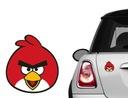 Naklejka na samochód/samochodowa Angry Birds KOLOR
