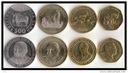 TANZANIA zestaw 4 monet