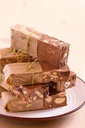 BLOK czekoladowy z bakaliami - domowy