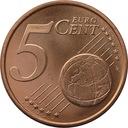 5 euro cent 2007 AUSTRIA z rolki menniczej