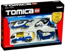 TOMICA 85103 - * - * - * POLICJA ZESTAW 4 POJAZDY