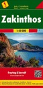 Zakynthos / Zakintos mapa samochodowa, turystyczna