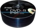 PŁYTY DVD+R TDK 4,7GB x16 szpindel 25 Wa-Wa PROMO