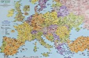 EUROPA KODOWA MAPA PODKŁADKA KODY POCZTOWE