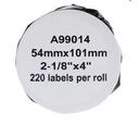 Etykiety do 99014 Dymo 54mm x 101mm - 220szt FV