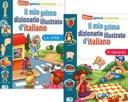 Słownik obrazkowy włoski dla dzieci MIASTO+WAKACJE