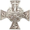 Żołnierze Wyklęci - Krzyż NSZ - odznaka wpinka pin