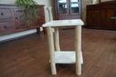 Rewelacyjny stolik 52x35x35 cm Eco biały Kod produktu Dywan123